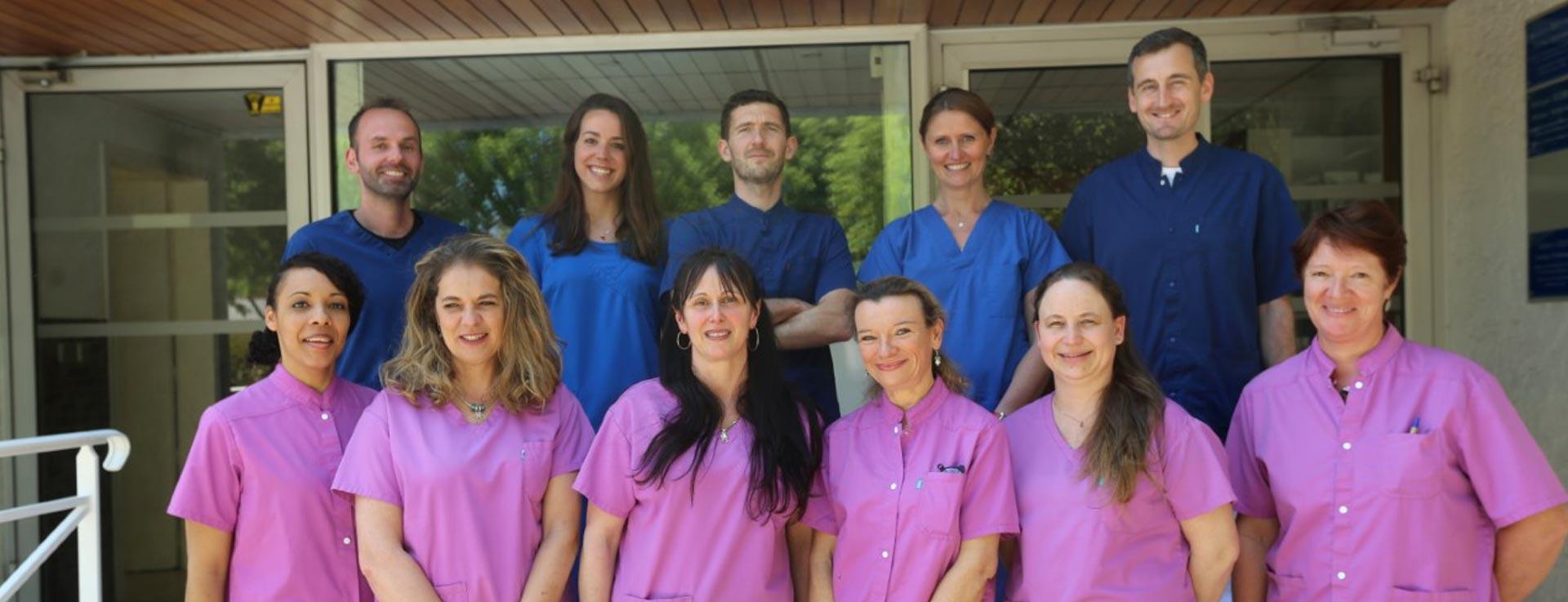 équipe vétérinaire clinique stalingrad